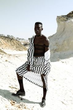 Lookbook: SA Designer Rich Mnisi Of Oath Studio's Menswear Spring/Summer 2016 Collection - #Menswear #Trends #Tendencias #Moda Hombre