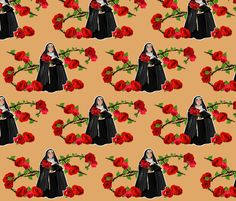 Nuns n' Roses version 2 fabric - which one?