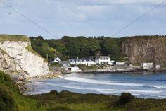 Portbradden Antrim Coast County Antrim Northern Ireland United Kingdom Europe PublicGround