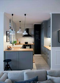 Trendy Home Decored Accessories Interior Design Grey - Home Decor Grey Home Decor, Home Decor Kitchen, Kitchen Interior, Home Kitchens, Küchen Design, Layout Design, House Design, Grey Interior Design, Trendy Home