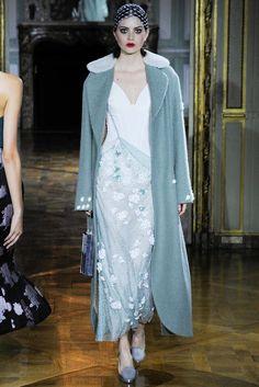 Ulyana Sergeenko Fall 2015 Couture Fashion Show - Nastya Kusakina