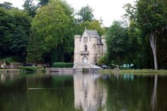 Château de la Reine Blanche, France.    The Church from Funny Face!