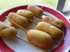 Feel like you are at the fair with these corn dogs made from Bisquick® Gluten Free mix.