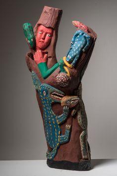 Manoel Graciano. 100x50x25 cm.