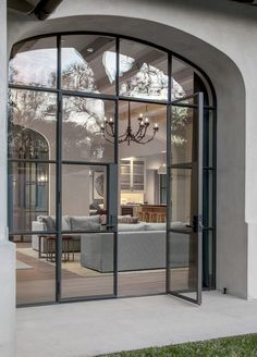 Rehme provides a large selection of french doors. Browse our gallery to get inspiration for your project. French Door Windows, Glass French Doors, French Doors Patio, Windows And Doors, Arch Windows, Sliding French Doors, Steel Windows, Steel Doors, Facade Design