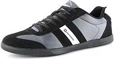 86432e3068f Alpine Swiss Haris Men s Suede Trim Retro Striped Sneakers BLK 13 M US   alpine Swiss Alpine Swiss Harris Men s Suede Trim Retro Striped Sneakers Black  Size ...