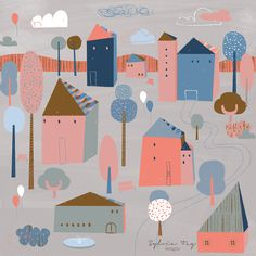 LITTLE TOWN by sylvia tay