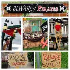 BIRTHDAY BLUEPRINT: Pirate Party
