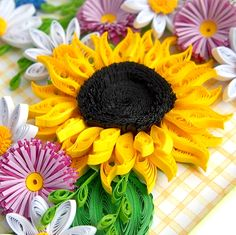 Sunflower Collection - Quilling