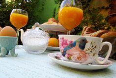 #QuedamosEn desayunar juntos en el jardin