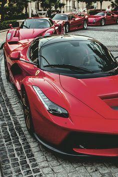 Parade of Ferrari Stars