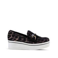 Binx Leopard Loafers - Stella Mccartney Official Online Store - SS 2016