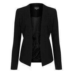 Rank & Style - Topshop Open Front Blazer #rankandstyle