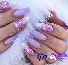 In seek out some nail designs and ideas for your nails? Listed here is our list of must-try coffin acrylic nails for fashionable women. Purple Nail Designs, Acrylic Nail Designs, Nail Art Designs, Nails Design, Coffin Nail Designs, Pedicure Designs, Pretty Nail Designs, Summer Acrylic Nails, Best Acrylic Nails