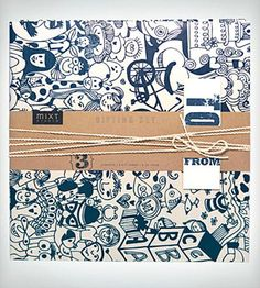 Oodles Gift Wrap Set
