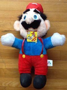 Creepy Super Mario plush from the 80's #nintendo #plush #supermario #nes #creepy #toy #gaming #game #gamer #nerd