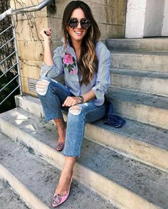 d9471375180 183 Fascinating Denim modest outfits images in 2019