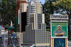 Mirage Hotel in Las Vegas at LEGOLAND California Miniland USA
