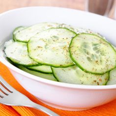 Thai Marinated Cucumbers