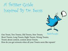 A Twitter Guide Inspired By Dr. Seuss