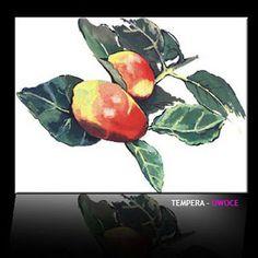 Tempera - owoce.