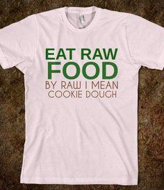 #Raw food, #humor :-)