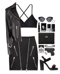 """Dark matter"" by runawaydream ❤ liked on Polyvore featuring ASOS, Patagonia, Yves Saint Laurent, Polaroid, Givenchy, Vlieger & Vandam, NARS Cosmetics, Acne Studios, Lord & Berry and Miss Selfridge"