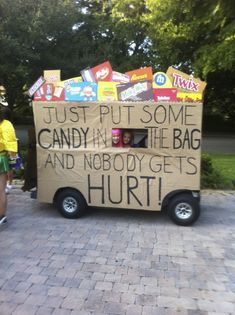 Halloween golf cart in our neighborhood. So fabulous