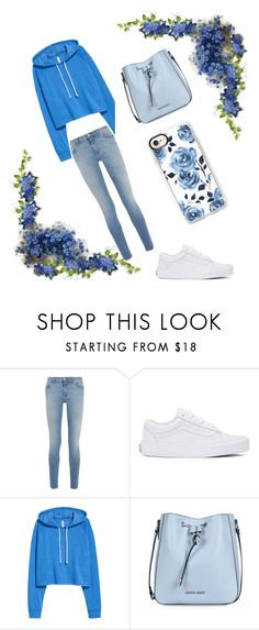 """blue Good Love"" by viki-pokorna ❤ liked on Polyvore featuring Givenchy, Vans, Armani Jeans and Casetify"