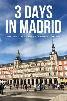 spain travel Only have 3 days to see Madrid Well, youre in luck! Here is our guide on what to do and what to eat and how to see our favorite city. Visit Madrid, At Madrid, Gaudi, Ibiza, Backpacking Spain, Madrid Travel, Spain Culture, Spain Travel Guide, Spain Holidays