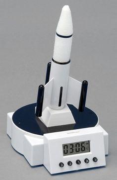 Rocket alarm clock...  #alarmclock