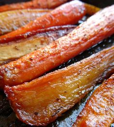 Honey-Glazed Carrots and Parsnips Recipe | www.pinkrecipebox.com