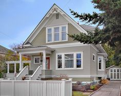 Exterior Two Tone Paint Design, Pictures, Remodel, Decor and Ideas - page 2