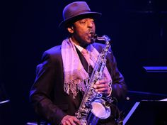 Archie Shepp at the London Barbican Barbican, Jazz Festival, Archie, London, London England