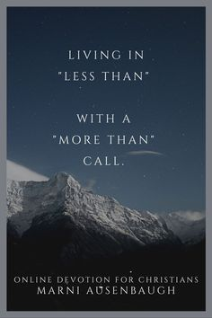 """The """"less than"""" mindset runs deep even in the heart of the church. What about the verse that says we are """"more than"""" conquerors? Let's sit with that a minute! Christian Women, Christian Living, Christian Life, Online Bible Study, Christian Resources, Christian Encouragement, Study Notes, Knowing God"""