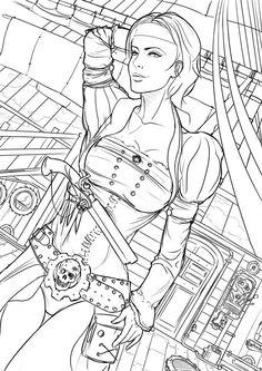 Steampunk Pirate by N-Deed on deviantART