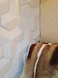 Harcourt : Interlocking leather tiles