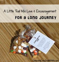 DIY Trail Mix Love & Encouragement - Celebrate Every Day With Me | Celebrate Every Day With Me