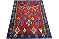 Turkish Traditional Kilim Rug 91 x 62 feet by kilimwarehouse