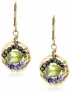 "Eva Hanusova ""Multi"" Garnet Pyrite Iolite Hammered Earrings Eva Hanusova,http://www.amazon.com/dp/B004ZT6NBC/ref=cm_sw_r_pi_dp_28hqtb0MH371872Y"