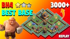 ULTIMATE BH4 Base w/ Replay PROOF. New Anti 3 Star BEST COC Builder Hall 4 (BH4) Base. Clash of Clans BH4/TH4 Anti Boxer Giant/Sneaky Archer/Baby Dragon/Bomber/Beta Minion/Raged Barbarian BH4 Base with Replays.  http://ift.tt/2lHtOjK    EXCLUSIVE VIDEO   https://www.youtube.com/watch?v=2rg0WT2f4E8&list=PL3qagk7aYt_Wx65A5jA3vy8bwwZMnZR9U  This is one of the ULTIMATE BH4 Bases of Builder Hall Base. This base can help you to gain a lot of trophies. You can use this Anti 3 Star BH4 Base for…