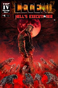Legend: Hell's Executioner 4 Regular Cover | Etsy Blood Red Moon, Cleopatra, Deck Of Cards, Colorful Interiors, The Book, Science Fiction, How To Find Out, Comic Books, Adventure