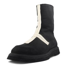 Neserv Julius Hype Beast Zeiser High Top Leather Boots In Black Mens Shoes Boots, Ugg Boots, Leather Boots, Men's Shoes, Combat Boots, Shoe Boots, Black Boots, Uggs, High Tops