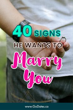 Do you want to take your relationship to the next level? If you're wedding-ready, but your man hasn't popped the question yet, don't freak out! Waiting for him to propose, or wondering if he wants marriage, can make any woman anxious. Lucky for you, you don't have to worry because I've prepared a list of top signs he wants to marry you. If you've noticed some of these signs, get ready because it's coming! Ready For Marriage, Best Marriage Advice, Past Relationships, Healthy Relationships, Inspirational Marriage Quotes, Marriage Problems, Waiting For Him, Christian Marriage, Freak Out