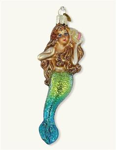 Old World Christmas Mermaid Ornament from Victorian Trading Co.
