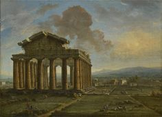 ANTONIO JOLI, 1700 - 1777, The Temple Of Poseidon At Paestum | Robilant + Voena