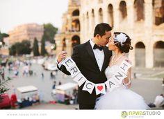 Rome wedding by @Kay De Ath Studio