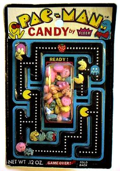Retro Pac-Man Candy, by Fleer