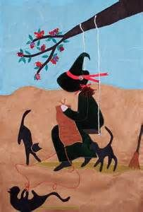 witch knitting