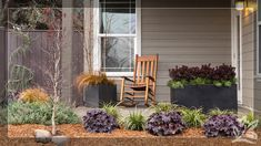Done right, foundation plants can help your front yard become a dynamic garden space. Here are four things to consider when designing a foundation planting scheme. Front House Landscaping, Backyard Landscaping, House Landscape, Landscape Design, Plant Design, Garden Design, Coral Bells Plant, Hydrangea Arrangements, Flower Centerpieces